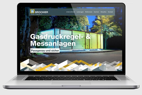 "Homepage im neuen ""Look & Feel"""